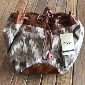 NWT Lucky Brand Boho Bucket Bag